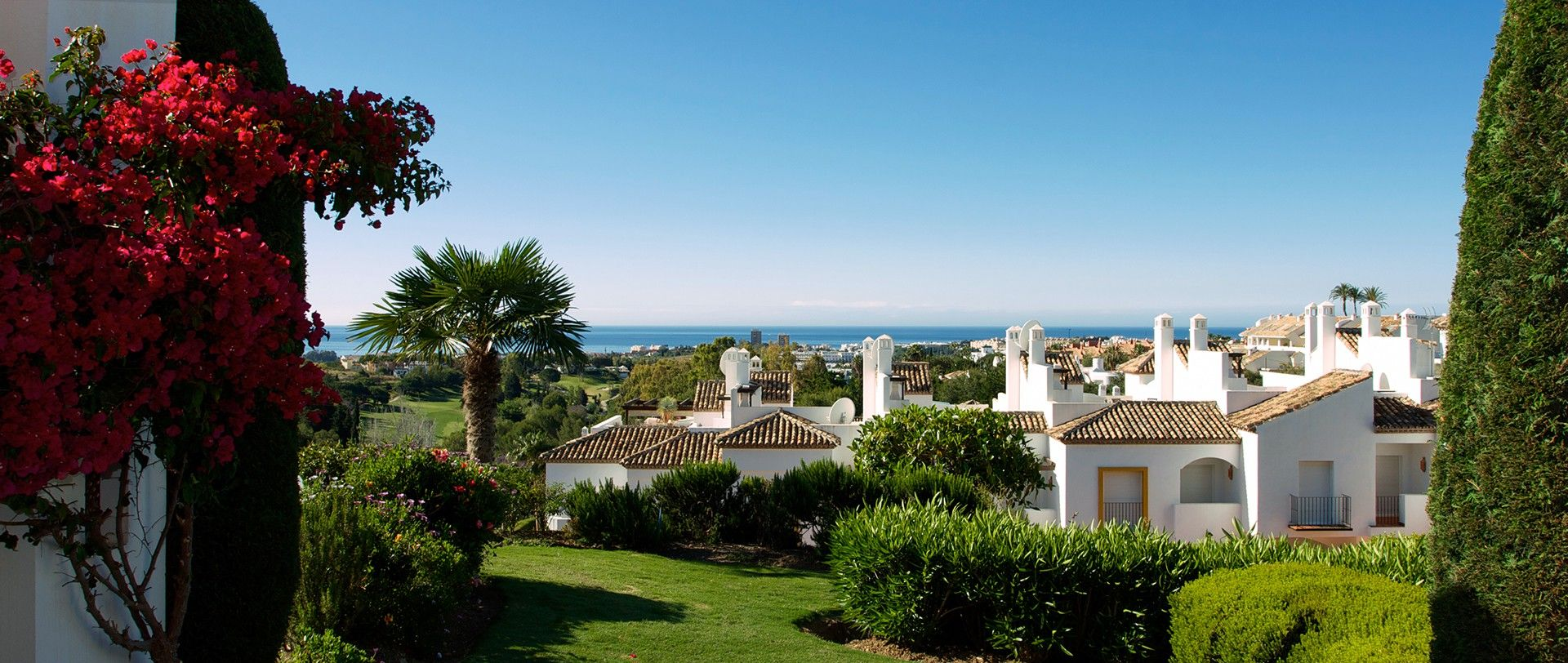 Marbella with its urban areas